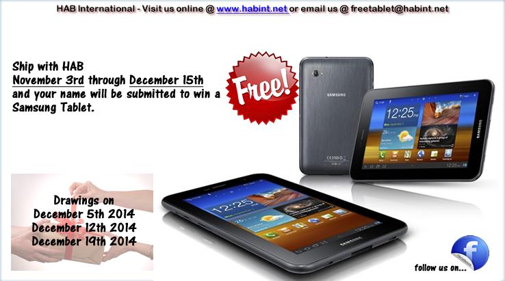 Samsung Tablet Promotion